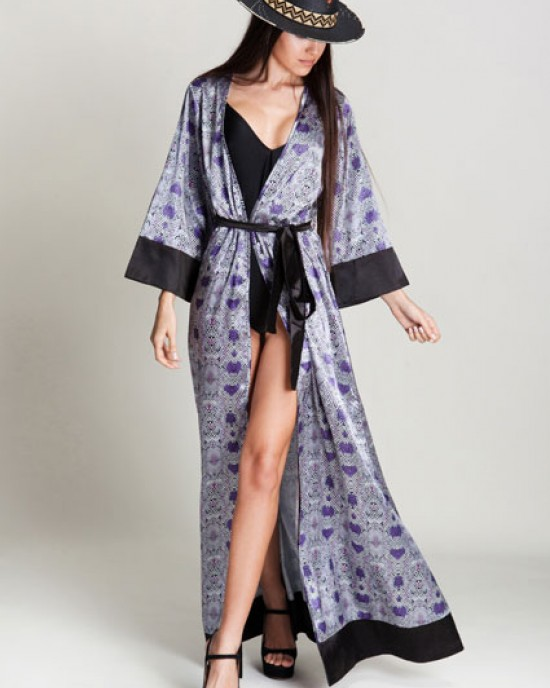 Sempriente Violet Kimono