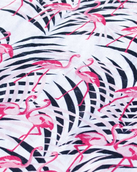 Verano with Flamingos Towel