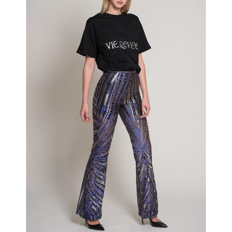 Vie Revve Cotton Logo T-Shirt