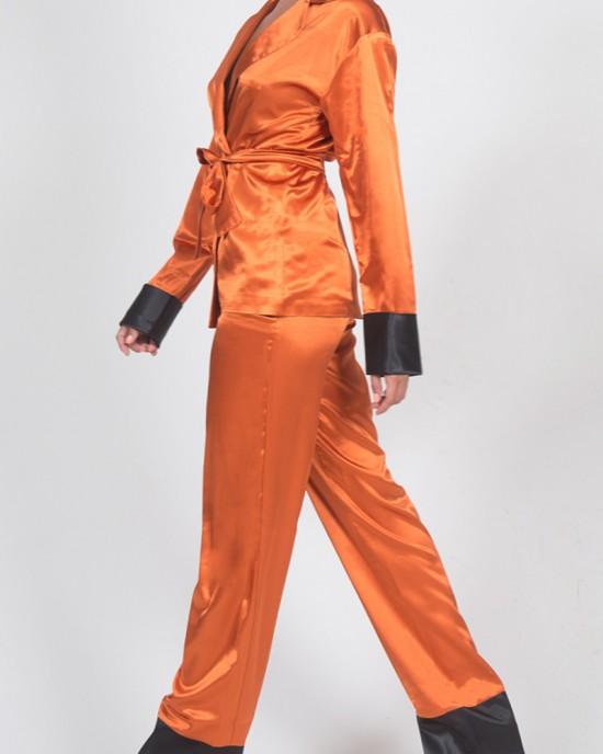 Leo Ginger Orange Blazer