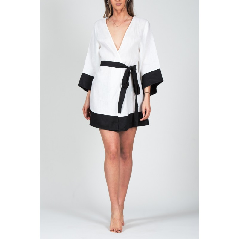 Casablanca White Kimono