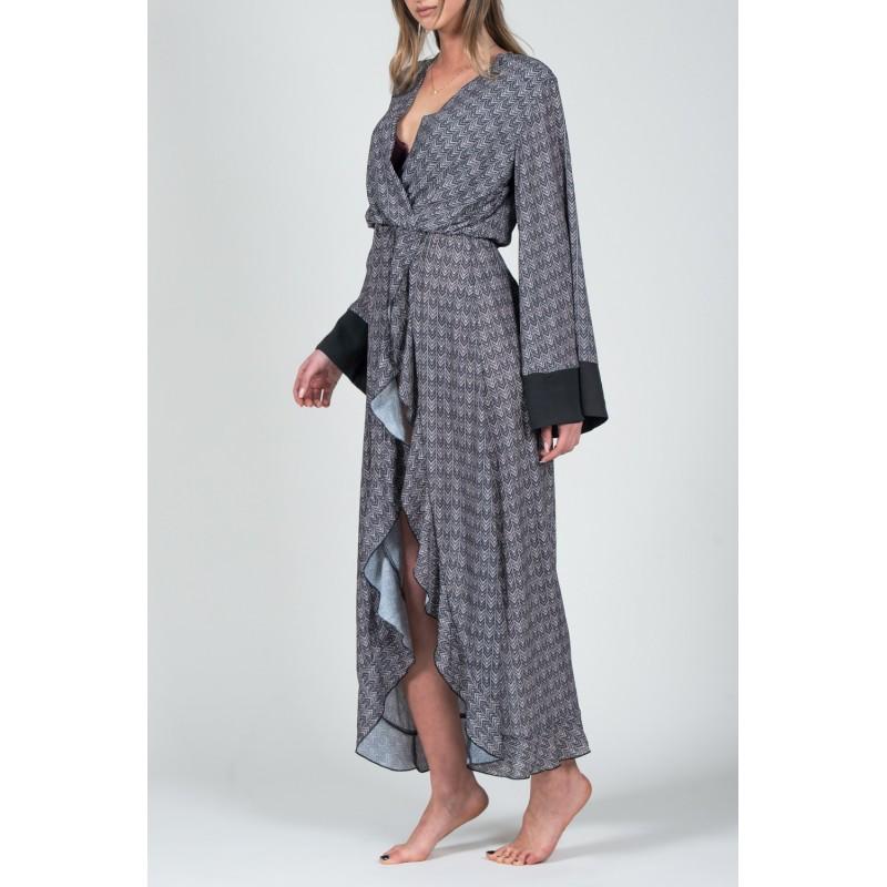 Tangier Wrap Dress