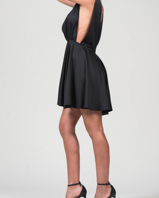 Amalfi Black Dress