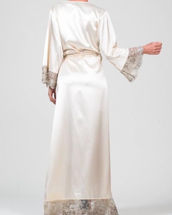 Encaje Beige Kimono