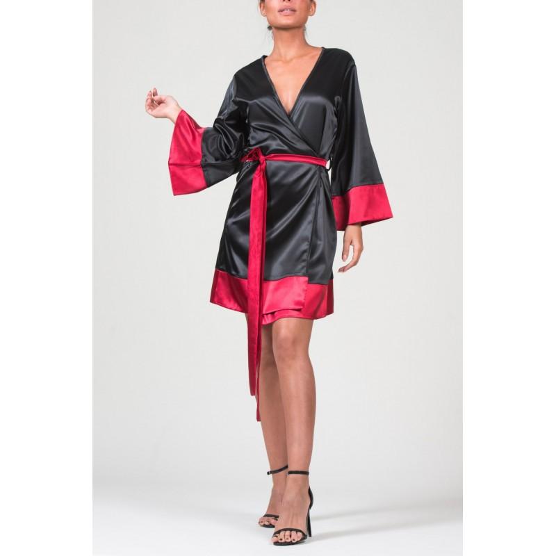 Soho Black Kimono
